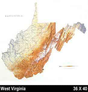 Raven WV Maps Free Maps Globe Globes Geo Atlases World Map - West virginia on a map of the us