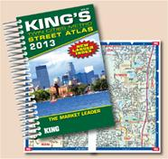 2013 King's Twin Cities Street Atlas